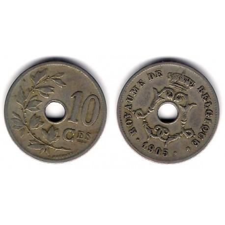 (52) Bélgica. 1905. 10 Centimes (MBC-)