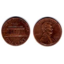 (201) Estados Unidos de América. 1999(D). 1 Cent (BC-)
