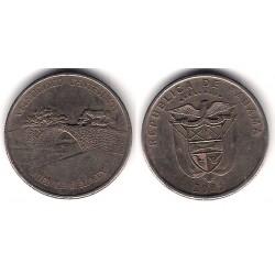 (136) Panamá. 2005. ¼ Balboa (MBC)