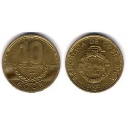 (228) Costa Rica. 2002. 10 Colones (MBC)