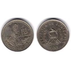 (277.6) Guatemala. 1997. 10 Centavos (MBC)