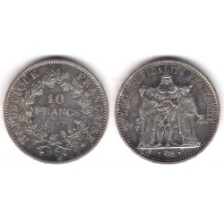 (932) Francia. 1967. 10 Francs (SC) (Plata)
