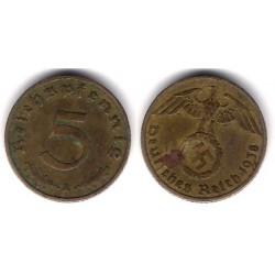 (91) Alemania (III Reich). 1938(A). 5 Pfennig (BC)