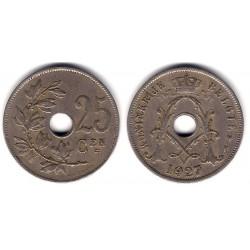 (69) Bélgica. 1927. 25 Centimes (BC+)