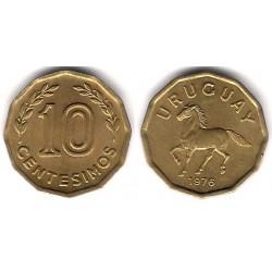 (66) Uruguay. 1976. 10 Centesimos (SC)