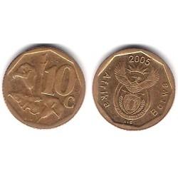 (292) Sudáfrica. 2005. 10 Cents (MBC)