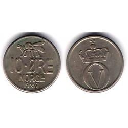 (411) Noruega. 1961. 10 Ore (+BC)