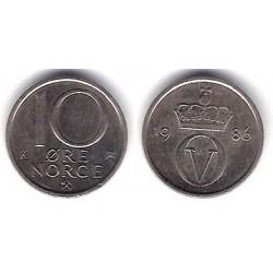 (416) Noruega. 1986. 10 Ore (MBC+)