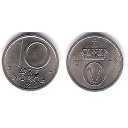 (416) Noruega. 1976. 10 Ore (EBC)