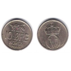 (411) Noruega. 1961. 10 Ore (BC+)