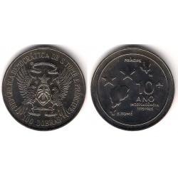 (42) Santo Tomé y Principe. 1985. 100 Dobras (SC)