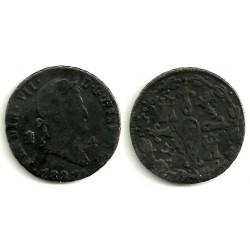 Fernano VII. 1827. 4 Maravedi (RC) Ceca de Segovia