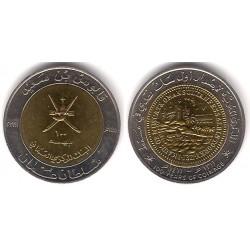(82) Omán. 1991. 100 Baisa (SC)