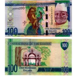 (35) Gambia. 2015. 100 Dalasis (SC)
