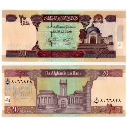 (68b) Afganistán. 2004. 20 Afghanis (SC)