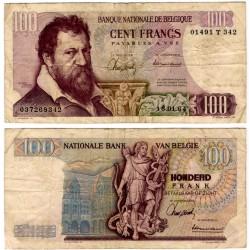 (134a) Bélgica. 1964. 100 Francs (BC)