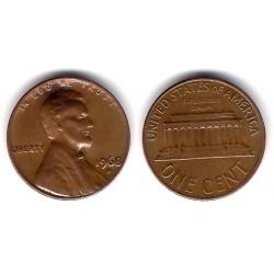 (201) Estados Unidos de América. 1968(D). 1 Cent (BC+)