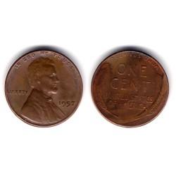(A132) Estados Unidos de América. 1957. 1 Cent (BC)
