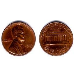 (201) Estados Unidos de América. 1963. 1 Cent (BC+)