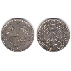 (110) Alemania. 1965(J). 1 Mark (MBC)