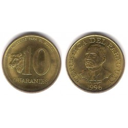 (178a) Paraguay. 1996. 10 Guaranies (EBC+)