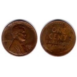 (A132) Estados Unidos de América. 1951(D). 1 Cent (BC)