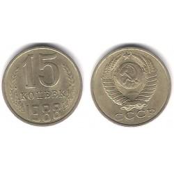 (Y131) Unión Soviética. 1988. 15 Kopeks (MBC)