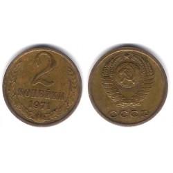 (Y127a) Unión Soviética. 1971. 2 Kopeks (BC)