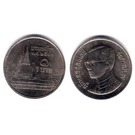 (Y183) Tailandia. 1998(2541). 1 Baht (SC)
