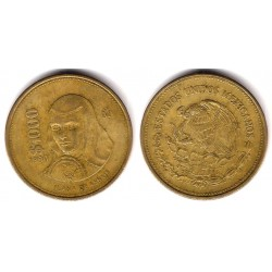 (563) Estados Unidos Mexicanos. 1990. 1000 Pesos (BC+)