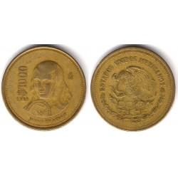 (563) Estados Unidos Mexicanos. 1988. 1000 Pesos (BC)