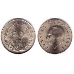 (966) Turquia.1985. 50 Lira (SC-)