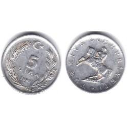 (949.2) Turquia. 1983. 5 Lira (BC)