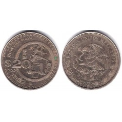 (486) Estados Unidos Mexicanos. 1982. 20 Pesos (MBC-)