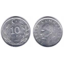 (964) Turquia. 1987. 10 Lira (EBC)