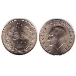 (966) Turquia.1985. 50 Lira (SC)
