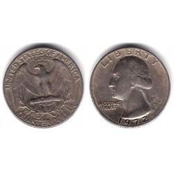 (A164a) Estados Unidos de América. 1972(D). Quarter Dollar (MBC-)