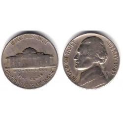 (A192) Estados Unidos de América. 1949. 5 Cents (BC)