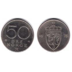(418) Noruega. 1975. 50 Ore (MBC)
