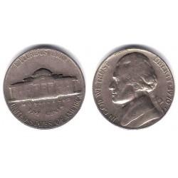 (A192) Estados Unidos de América. 1970(S). 5 Cents (BC+)