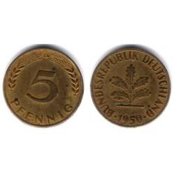 (107) Alemania. 1990. 5 Pfennig (MBC)