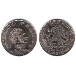 (472) Estados Unidos Mexicanos. 1977. 5 Pesos (SC)