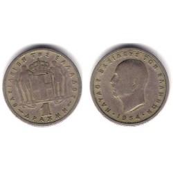 (81) Grecia. 1954. 1 Drachma (BC)