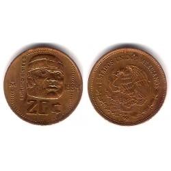 (491) Estados Unidos Mexicanos. 1984. 20 Centavos (EBC)