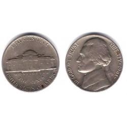 (A192) Estados Unidos de América. 1981. 5 Cents (BC)