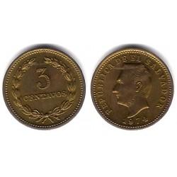 (148) El Salvador. 1974. 3 Centavos (BC+)