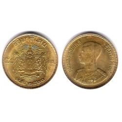 (Y81) Tailandia. 1957(2500). 50 Satang (MBC+)