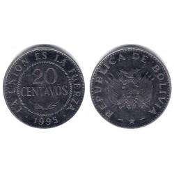 (203) Bolivia. 1995. 20 Centavos (MBC)