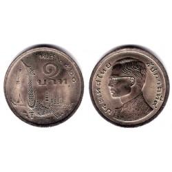 (Y110) Tailandia. 1977. 1 Baht (EBC+)