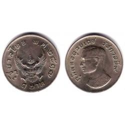 (Y100) Tailandia. 1974(2517). 1 Baht (MBC)